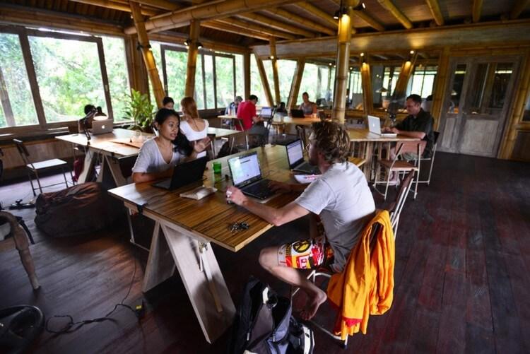 Espace de coworking pour freelances